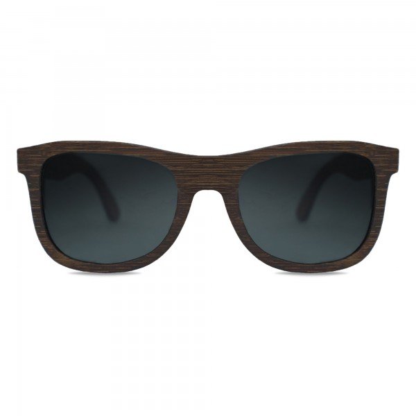 Black Walnut Wayfarer Sunglasses