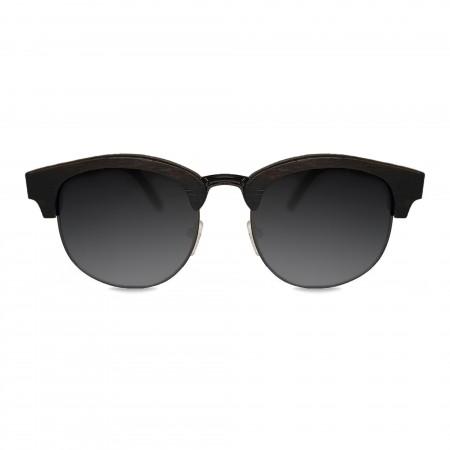 Ebony Clubmaster Sunglasses