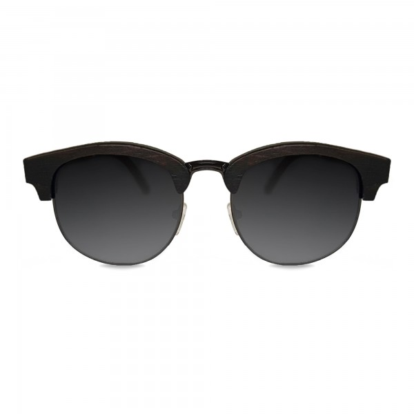 Ebony Clubmaster Sunglasses