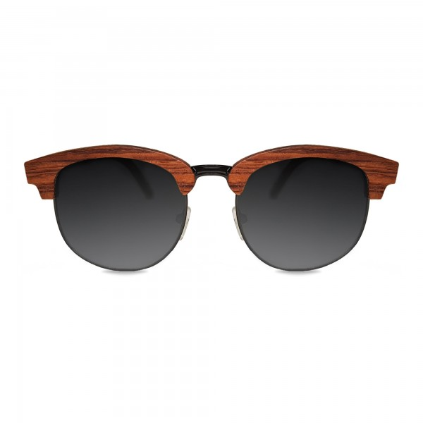 Rosewood Clubmaster Sunglasses